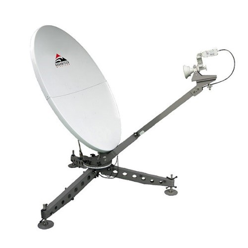 Antena movil satelital de Advantech